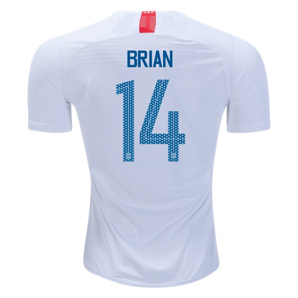 Home Morgan Brian 18/19 USA Authentic Men's Stadium Jersey
