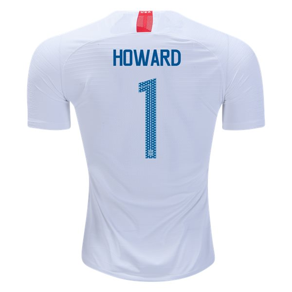 Home Tim Howard 2018 USA Authentic Men's Stadium Jersey