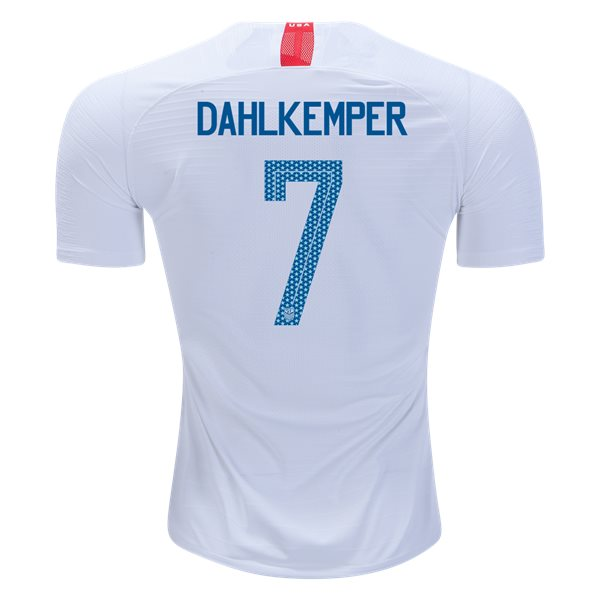Home Abby Dahlkemper 2018/2019 USA Authentic Men's Stadium Jersey