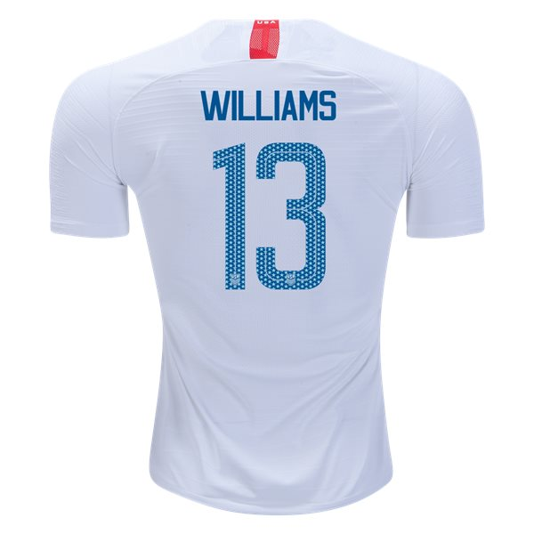 Home Lynn Williams 2018 USA Authentic Men's Stadium Jersey