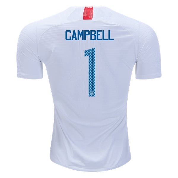 Home Jane Campbell 2018/2019 USA Authentic Men's Stadium Jersey