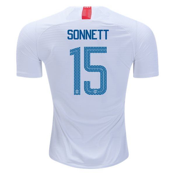 Home Emily Sonnett 18/19 USA Authentic Men's Stadium Jersey
