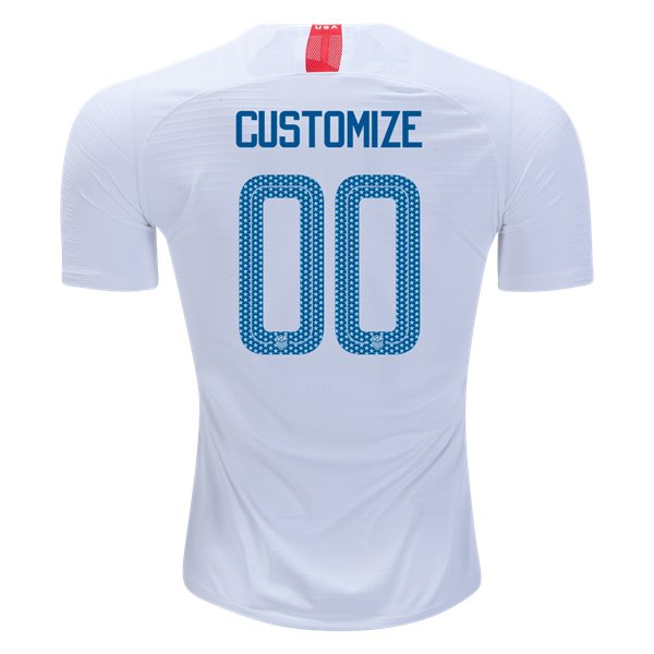 Home Customized 2018 USA Authentic Men's Stadium Jersey
