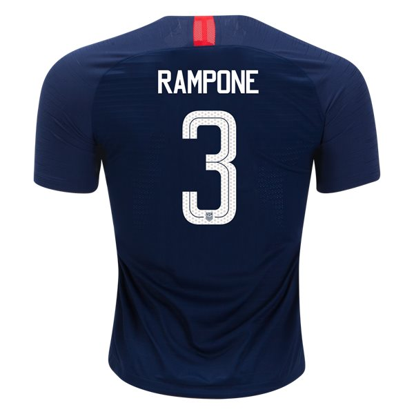 Away Christie Rampone 2018/19 USA Authentic Men's Stadium Jersey
