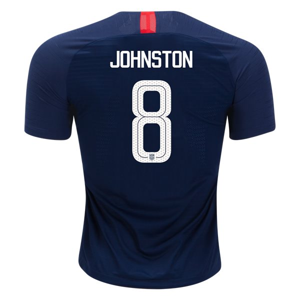 Away Julie Johnston 18/19 USA Authentic Men's Stadium Jersey