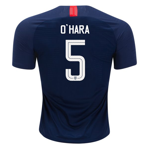 Away Kelley O'Hara 2018/2019 USA Authentic Men's Stadium Jersey