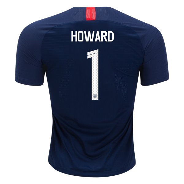 Away Tim Howard 2018/19 USA Authentic Men's Stadium Jersey