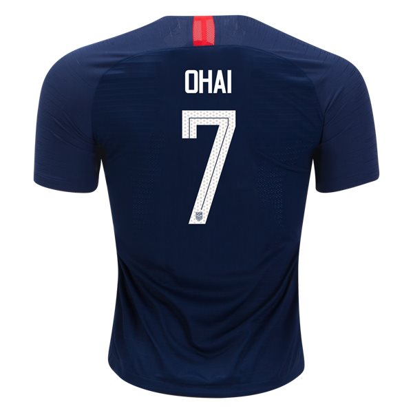 Away Kealia Ohai 2018 USA Authentic Men's Stadium Jersey