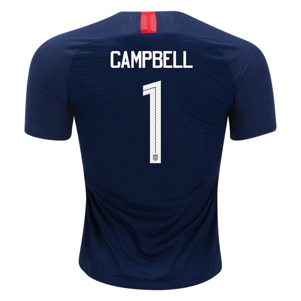 Away Jane Campbell 18/19 USA Authentic Men's Stadium Jersey
