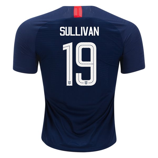 Away Andi Sullivan 18/19 USA Authentic Men's Stadium Jersey
