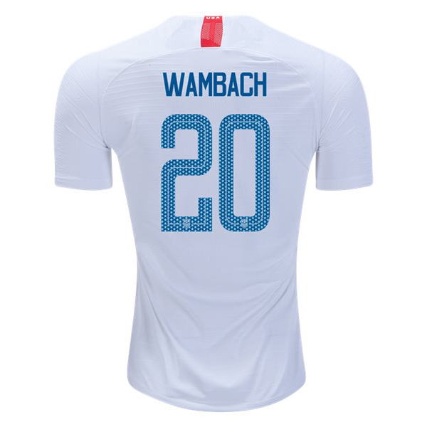 Home Abby Wambach 2018 USA Replica Men's Stadium Jersey