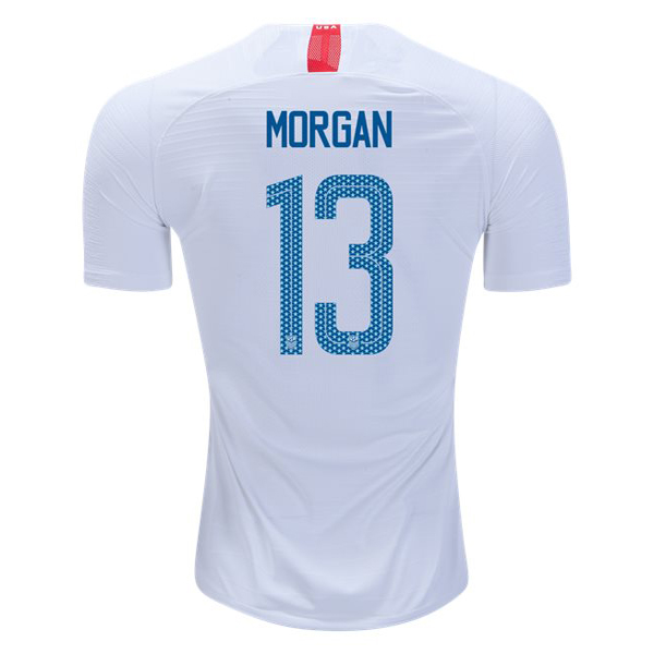 Home Alex Morgan 18/19 USA Replica Men's Stadium Jersey