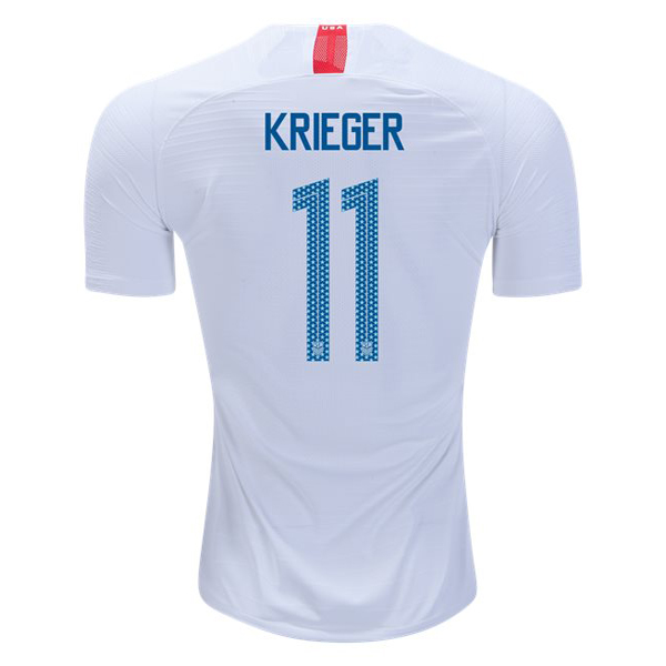 Home Ali Krieger 2018/2019 USA Replica Men's Stadium Jersey