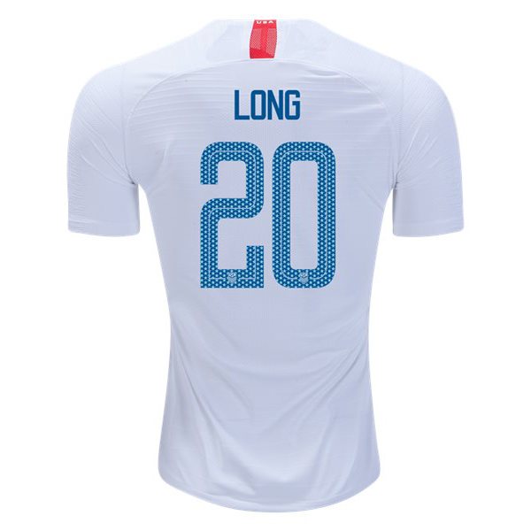 Home Allie Long 2018/19 USA Replica Men's Stadium Jersey