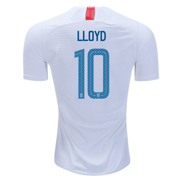 Home Carli Lloyd 2018/19 USA Replica Men's Stadium Jersey