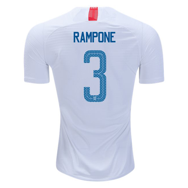 Home Christie Rampone 2018/2019 USA Replica Men's Stadium Jersey