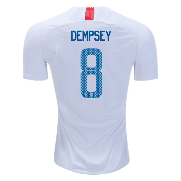 Home Clint Dempsey 2018/19 USA Replica Men's Stadium Jersey