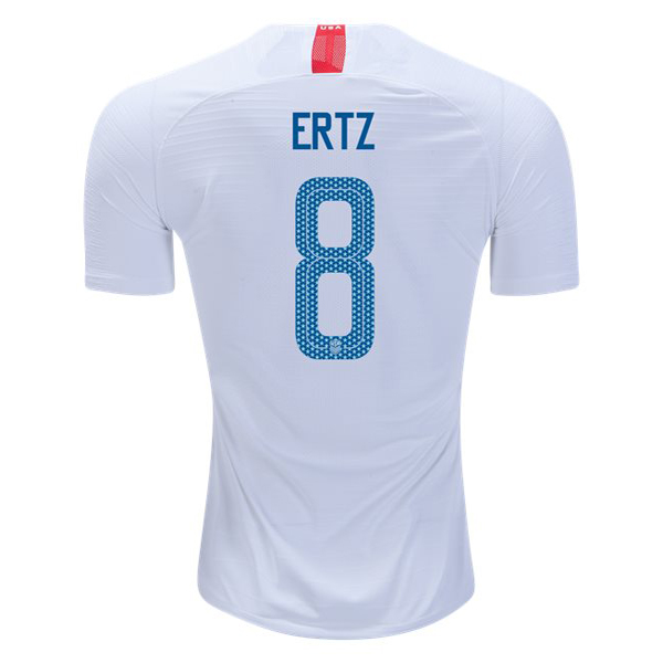 Home Julie Ertz 2018/19 USA Replica Men's Stadium Jersey