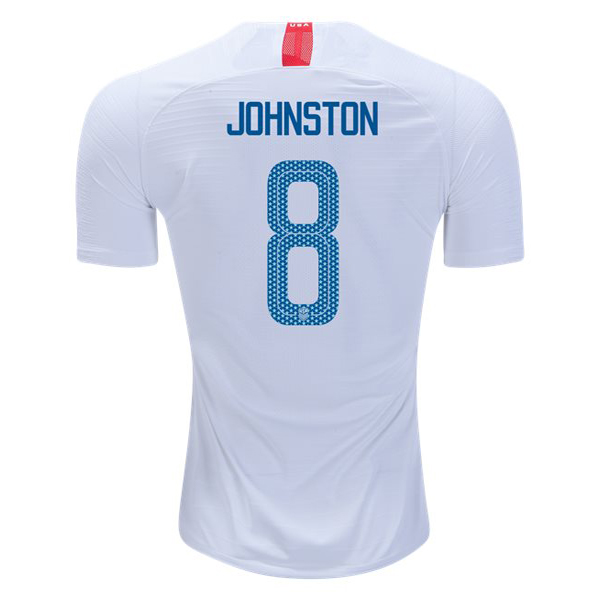 Home Julie Johnston 2018 USA Replica Men's Stadium Jersey