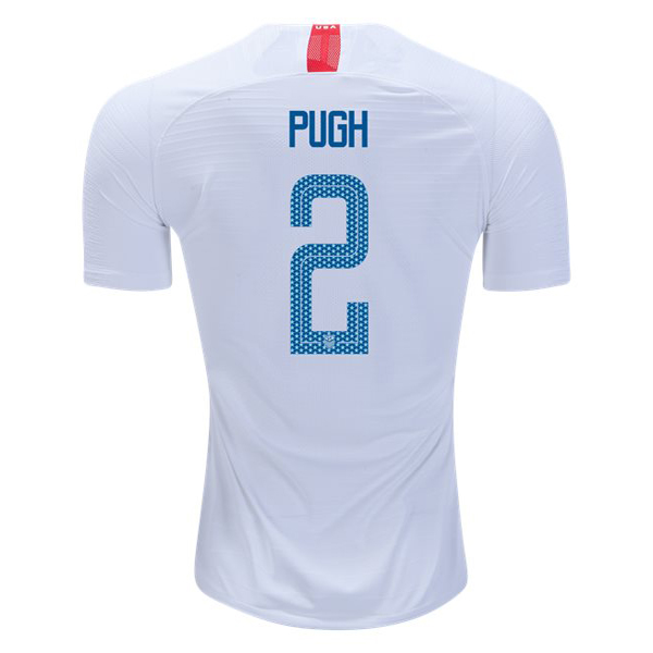 Home Mallory Pugh 2018/19 USA Replica Men's Stadium Jersey