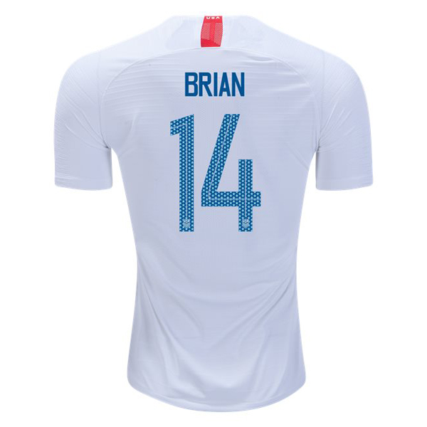 Home Morgan Brian 2018/19 USA Replica Men's Stadium Jersey