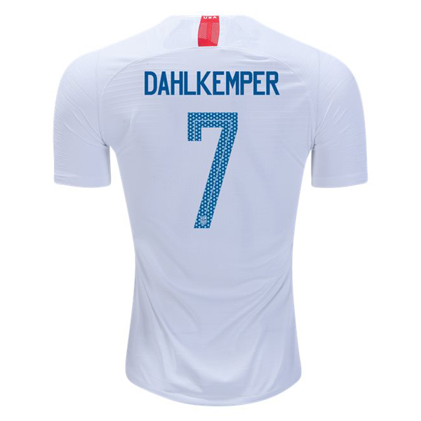 Home Abby Dahlkemper 2018 USA Replica Men's Stadium Jersey