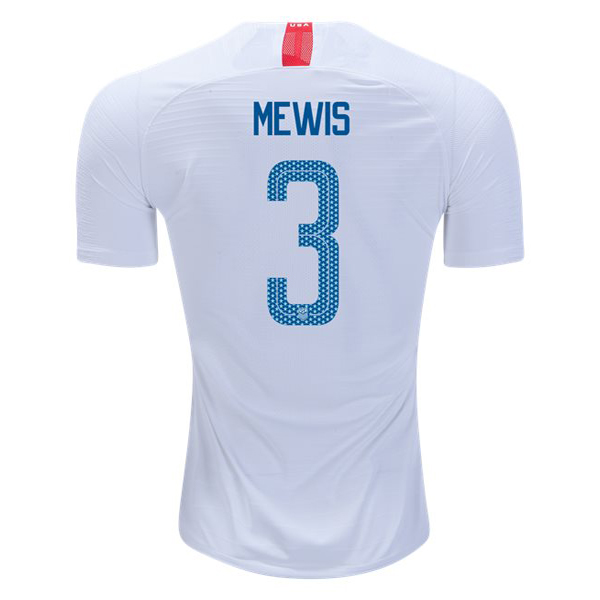 Home Samantha Mewis 18/19 USA Replica Men's Stadium Jersey