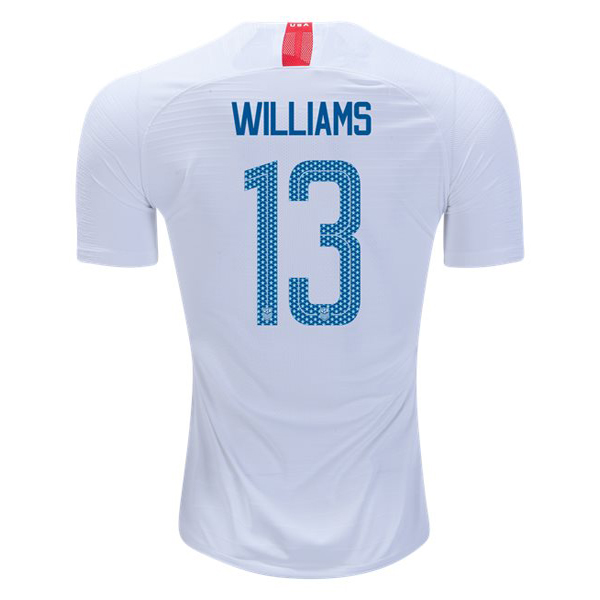 Home Lynn Williams 2018/2019 USA Replica Men's Stadium Jersey