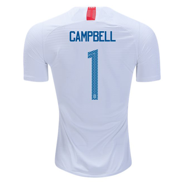 Home Jane Campbell 2018 USA Replica Men's Stadium Jersey