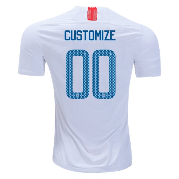 Home Customized 2018/2019 USA Replica Men's Stadium Jersey