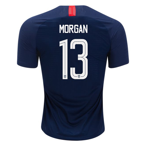 Away Alex Morgan 2018 USA Replica Men's Stadium Jersey