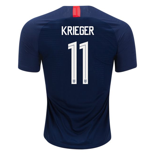 Away Ali Krieger 18/19 USA Replica Men's Stadium Jersey