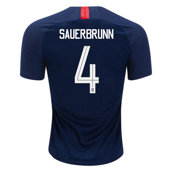 Away Becky Sauerbrunn 2018 USA Replica Men's Stadium Jersey