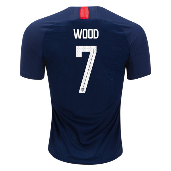 Away Bobby Wood 18/19 USA Replica Men's Stadium Jersey