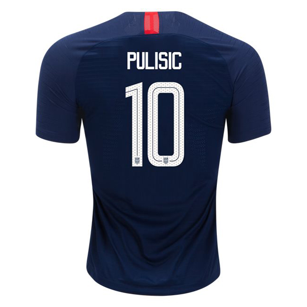 Away Christian Pulisic 2018 USA Replica Men's Stadium Jersey