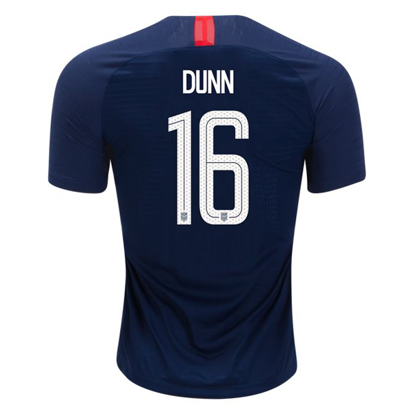 Away Crystal Dunn 2018/19 USA Replica Men's Stadium Jersey