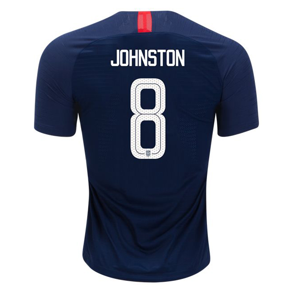 Away Julie Johnston 2018/19 USA Replica Men's Stadium Jersey