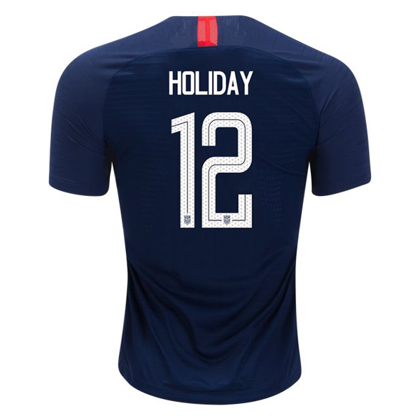 Away Lauren Holiday 18/19 USA Replica Men's Stadium Jersey