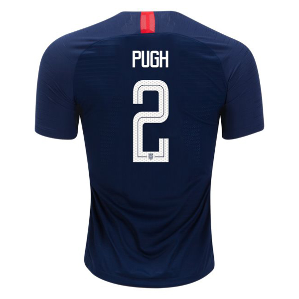Away Mallory Pugh 2018/2019 USA Replica Men's Stadium Jersey