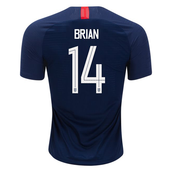 Away Morgan Brian 2018/2019 USA Replica Men's Stadium Jersey
