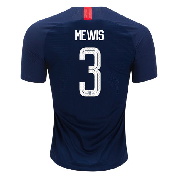 Away Samantha Mewis 2018 USA Replica Men's Stadium Jersey