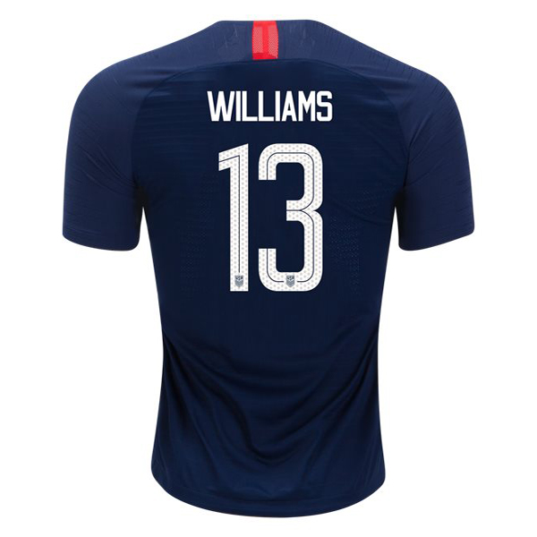Away Lynn Williams 18/19 USA Replica Men's Stadium Jersey