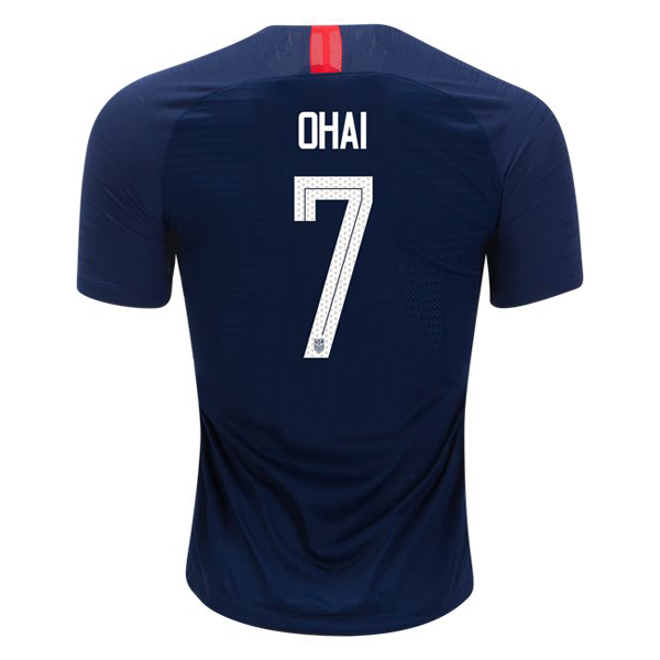 Away Kealia Ohai 2018/2019 USA Replica Men's Stadium Jersey