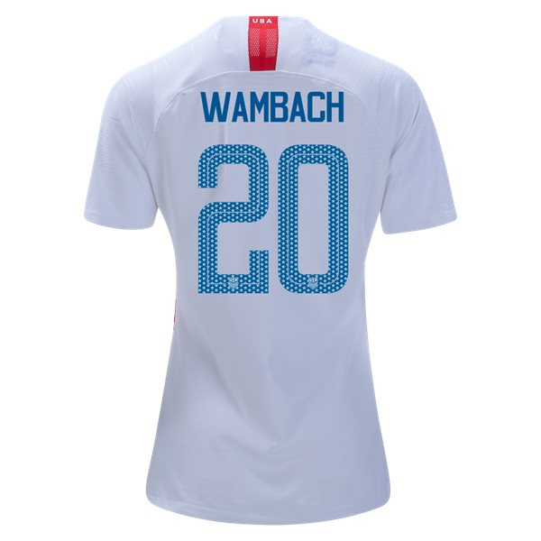 Home Abby Wambach 2018/2019 USA Women's Stadium Jersey 3-Star
