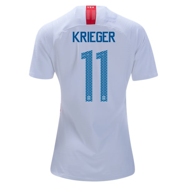 Home Ali Krieger 2018 USA Women's Stadium Jersey 3-Star
