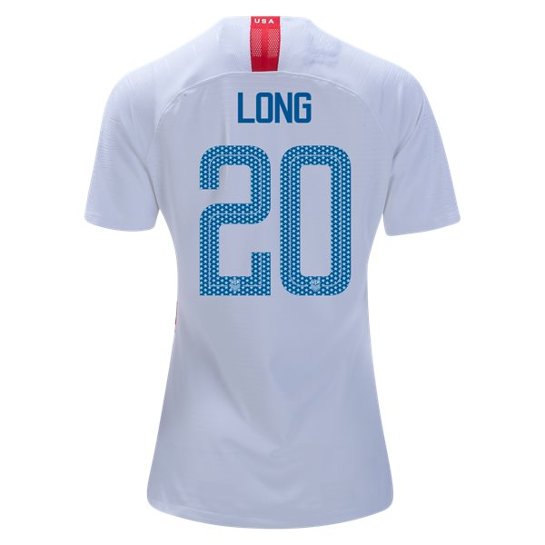 Home Allie Long 18/19 USA Women's Stadium Jersey 3 Star