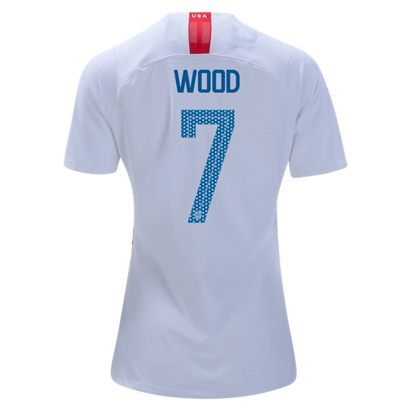 Home Bobby Wood 2018 USA Women's Stadium Jersey 3-Star