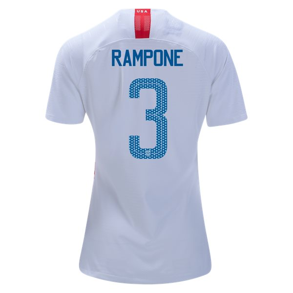 Home Christie Rampone 2018 USA Women's Stadium Jersey 3-Star