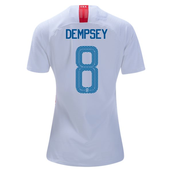 Home Clint Dempsey 18/19 USA Women's Stadium Jersey 3 Star