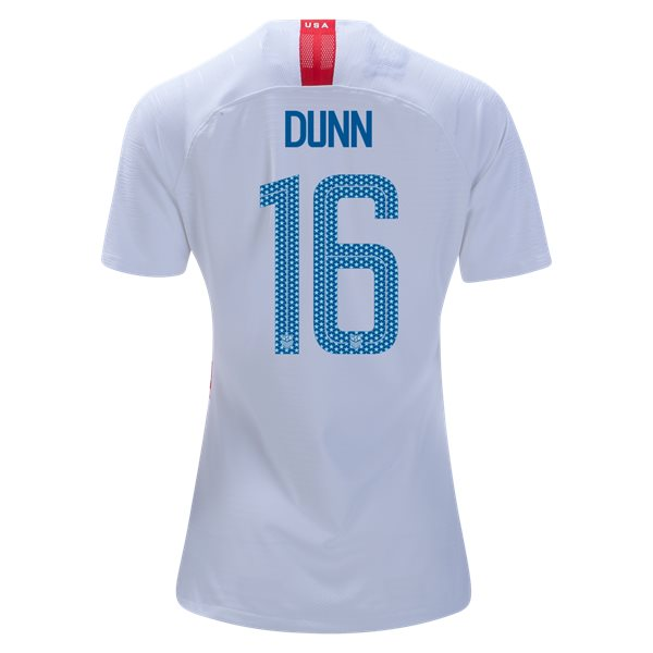Home Crystal Dunn 2018/2019 USA Women's Stadium Jersey 3-Star